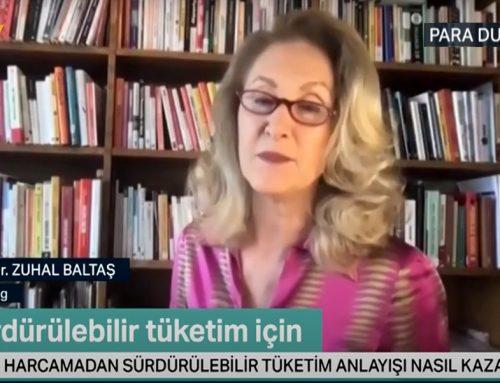 Prof. Dr. Zuhal Baltaş, Özlem Denizmen'in NTV'de yayınlanan Para Durumu programına konuk oldu.